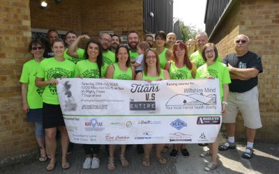 Proud to sponsor charity challenge in aid of Wiltshire Mind.