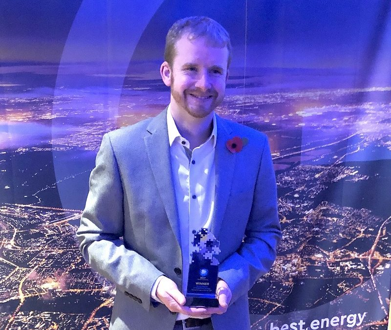 Stuart Pearce Energy Manager of the Year