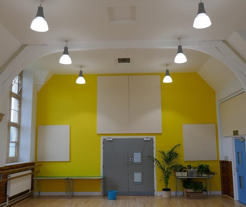 State-of-the-art LED lighting system at The Pound Arts Centre