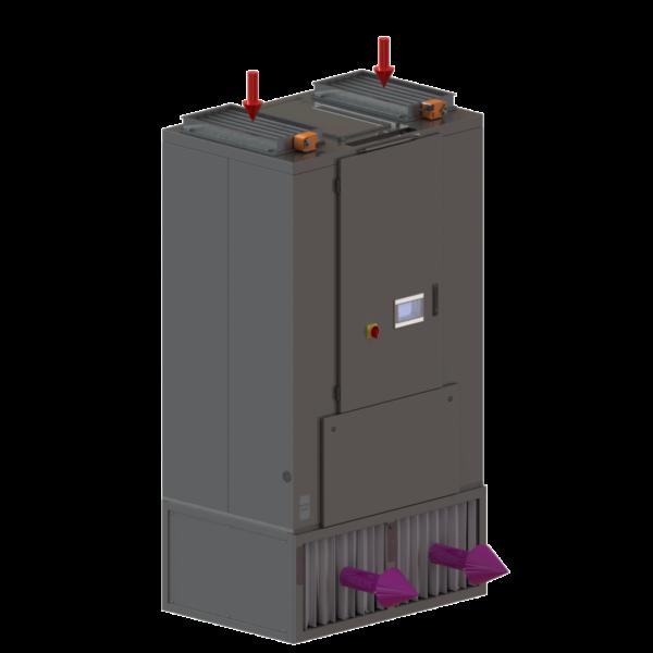 Evaporative Cooling - Internal Evaporative Cooler