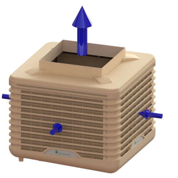 Evaporative Cooling - External WetBox – Small